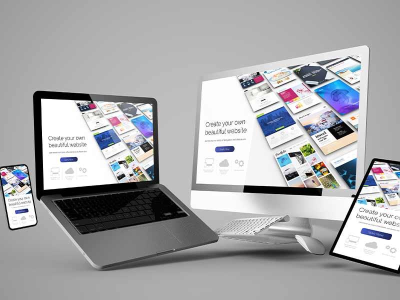 Creación de web site