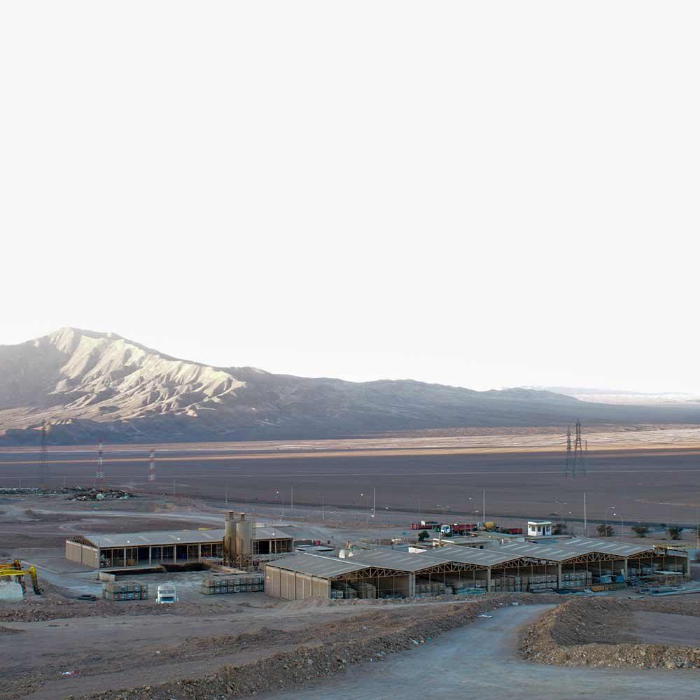 Foto planta industrial norte